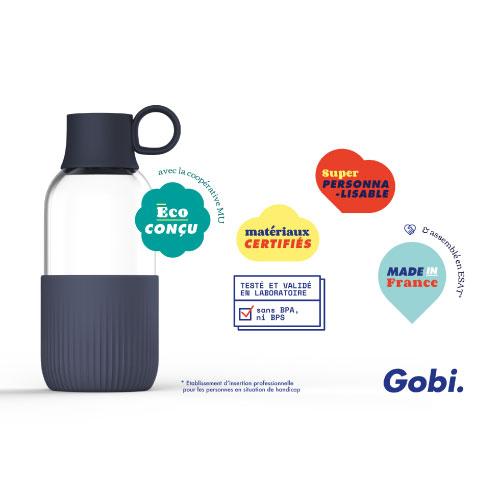 Gourde Gobi Indoor made in france et eco-conçue