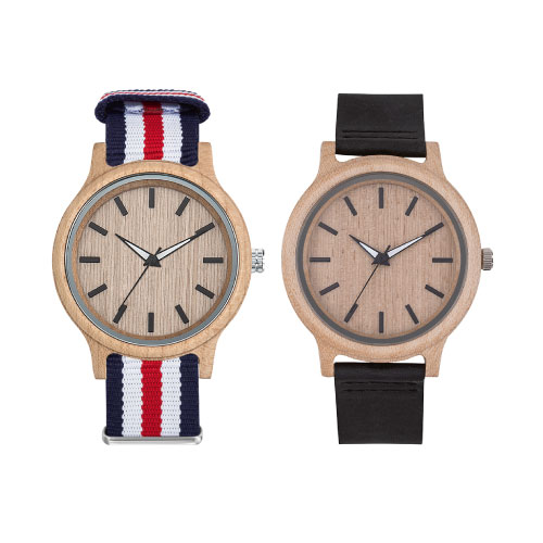 Montres publicitaires made in france Woody
