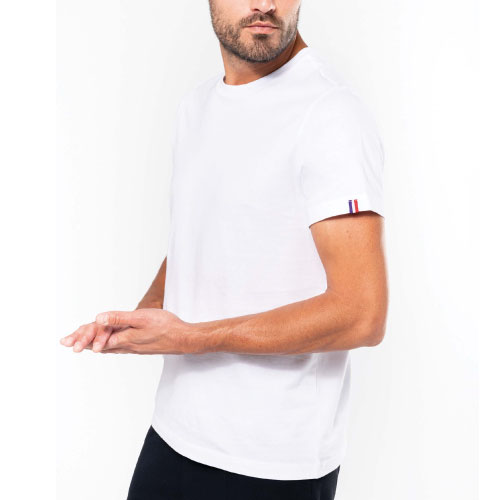 T-shirt personnalisable made in france coton bio