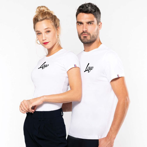 T-shirt publicitaire made in france coton bio