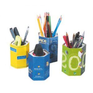 pot à crayons publicitaire personnalisé made in france