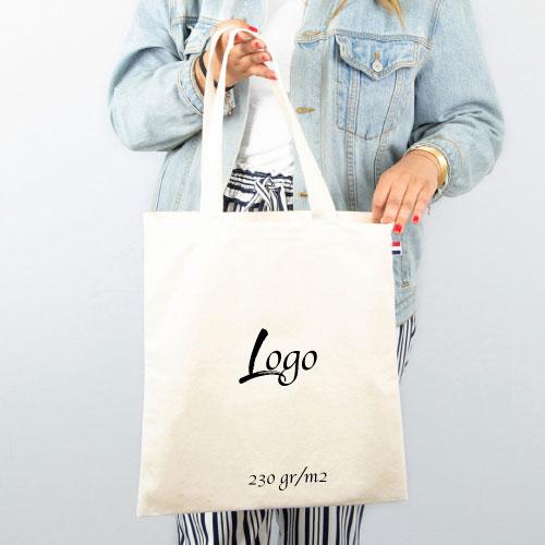 tote bag personnalisable écologique en coton 230 grammes m2