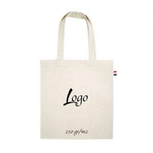 tote bag publicitaire écologique en coton 230gr m2