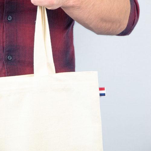 tote bag publicitaire personnalisable en coton 230 grammes m2