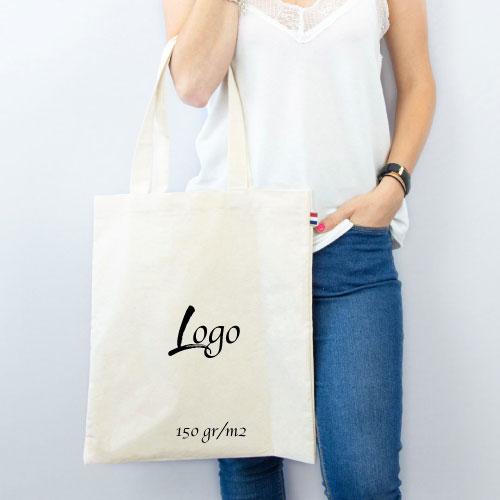 tote bag publicitaire personnalisé en coton 123gr par m2