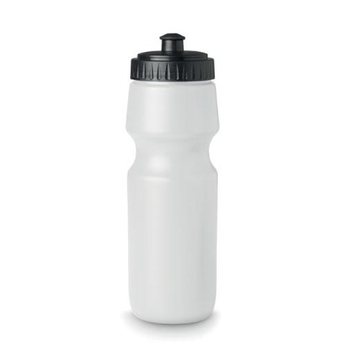 Gourde de sport personnalisable en plastique sans bpa blanche 700ml