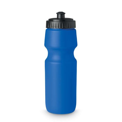 Gourde de sport personnalisable en plastique sans bpa bleue 700ml