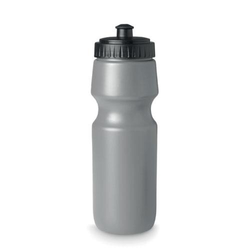 Gourde de sport personnalisable en plastique sans bpa grise 700ml