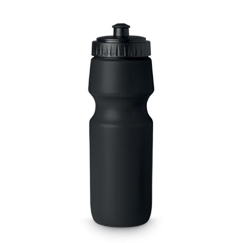 Gourde de sport personnalisable en plastique sans bpa noire 700ml