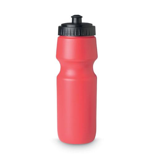 Gourde de sport personnalisable en plastique sans bpa rouge 700ml