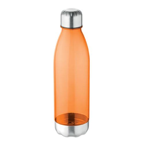 bouteille écologique personnalisable en tritan et acier inoxydable orange