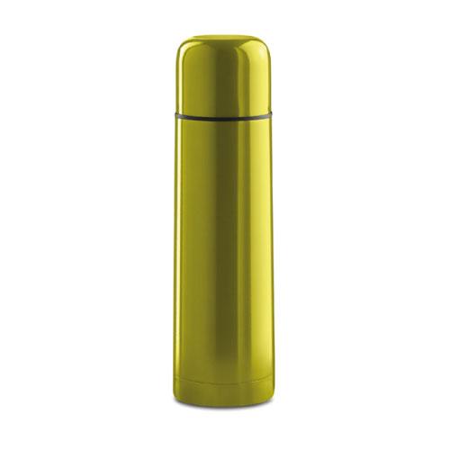 bouteille thermos publicitaire jaune