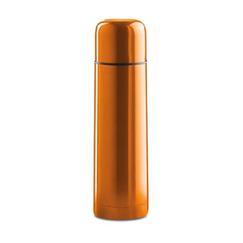 bouteille thermos publicitaire orange