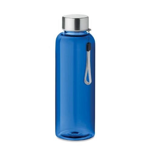 gourde écologique personnalisable en tritan bleue