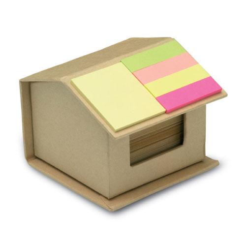 boite avec feuille et stickers écologique personnalisable