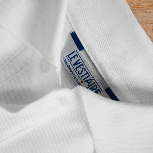 col t-shirt personnalisable made in france en coton bio