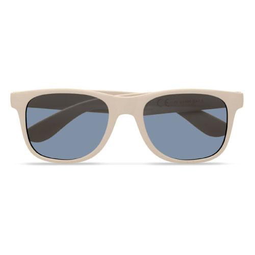 lunettes de soleil personnalisables écologiques en fibre de bambou et pp