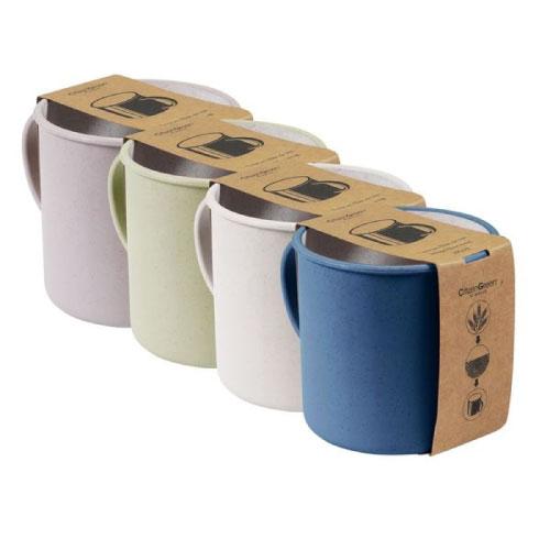 mugs publicitaires écologiques en fibre de blé