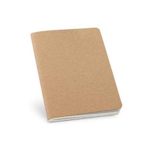 petit carnet personnalisable écologique avec papier recyclé