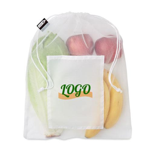 sac alimentaire personnalisable en RPET
