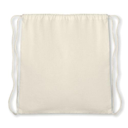 sac personnalisable à cordelette en coton organique