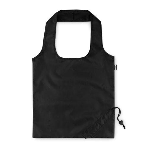 sac publicitaire pliable en RPET noir