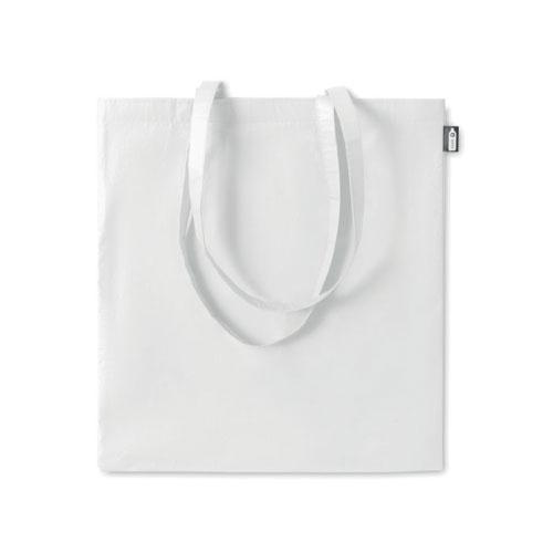 sac shopping publicitaire en RPET blanc