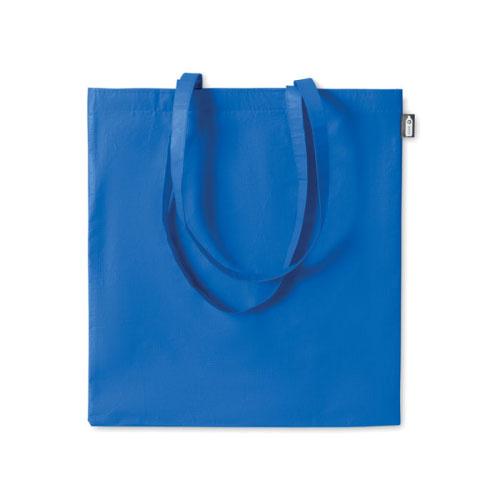sac shopping publicitaire en RPET bleu clair