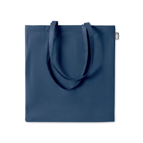 sac shopping publicitaire en RPET bleu