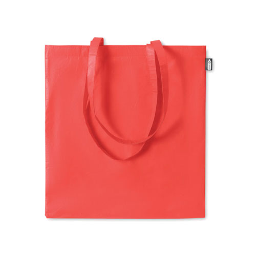 sac shopping publicitaire en RPET rouge