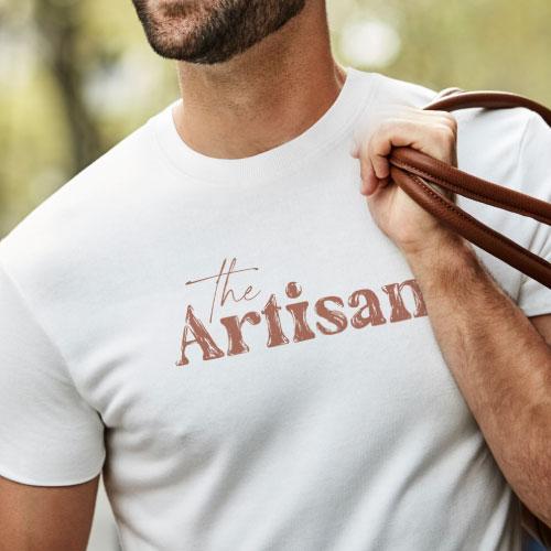t-shirt personnalisé made in france en coton bio