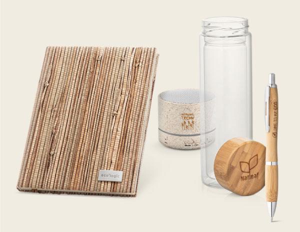 différents types de cadeaux d'entreprise écologiques